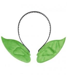 Diadema con Orejas Verdes