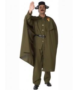 Disfraz de Guardia Civil con Capa