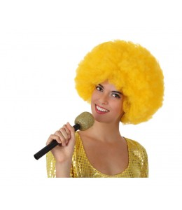 Microfono purpurina