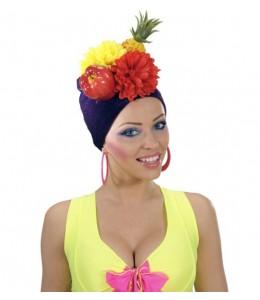 Gorro con frutas