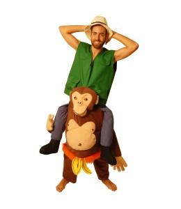 Disfraz de Chimpance con Explorador
