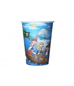 Vasos de Pirata 6 unid