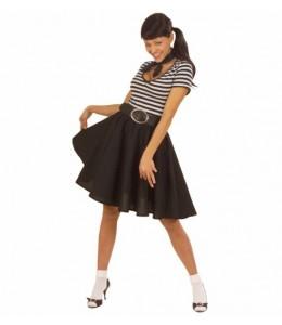 Falda años 50 Negra