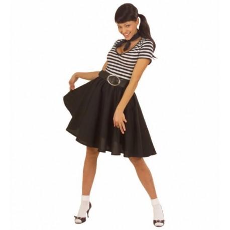111e14146c Comprar Falda años 50 Negra por solo 16.00€ – Tienda de disfraces online