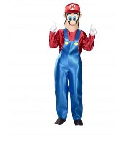 Disfraz de de Fontanero Mario Mascota