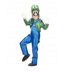 Disfraz de Fontanero Luigi Mascota