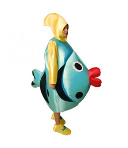 Disfraz de Pez Azul