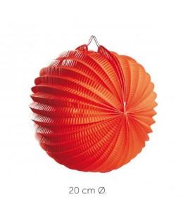 Farol Esferico Naranja