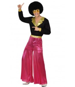 Disfraz de Disco Rosa Hombre