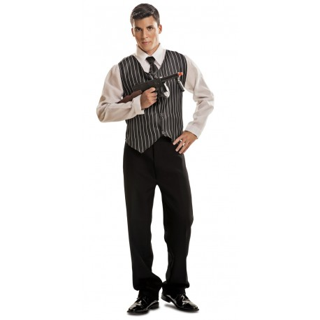 Disfraz de Gangster con Chaleco