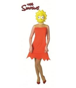 Disfraz de Los Simpson Lisa