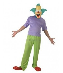 Disfraz de Los Simpson Krusty The Clown