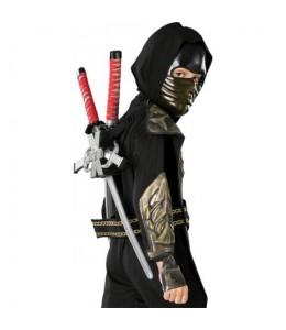 Set Ninja Para Espalda