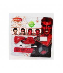 Maquillaje Kit de Demonio