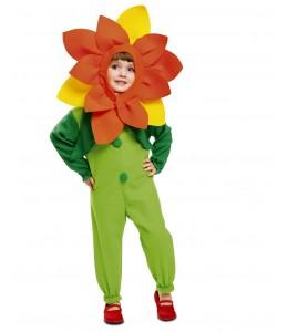 Disfraz de Flor infantil