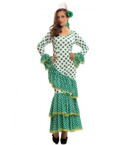 Disfraz de Flamenca Verde