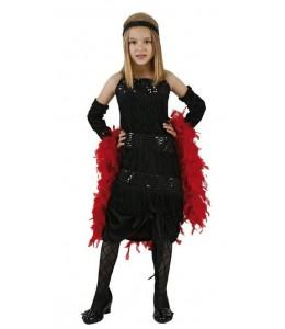 Disfraz de Charleston Negro infantil
