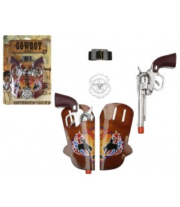 Pistolas con Cartucheras Rodeo