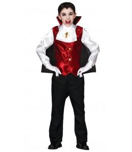 Disfraz de Vampiro Dracula Niño