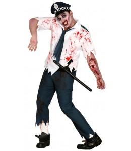 Disfraz de Zombie Policia