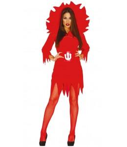 Disfraz de Diablesa en Llamas