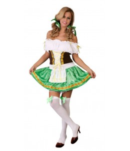 Disfraz de Tirolesa  Talla-M Genero-Mujer