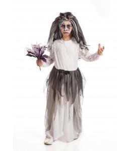 Disfraz de Novia Fantasma Niña