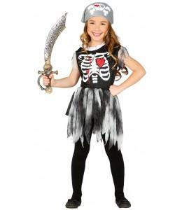 Disfraz de Piratesa Fantasma Infantil