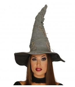 Sombrero de Bruja Gris