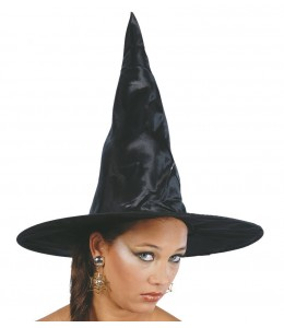 Sombrero de Bruja Negro