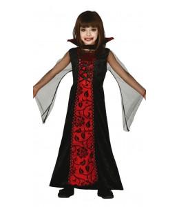 Disfraz de Condesa Vampira Infantil