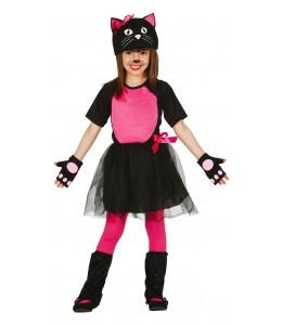Disfraz de Gatita Infantil
