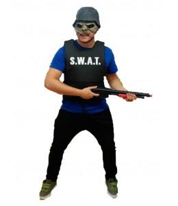 Disfraz Zombie de Swat