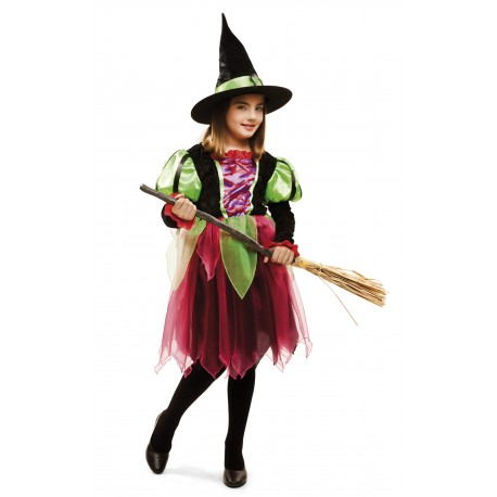 Disfraz de Bruja Fantasia Infantil