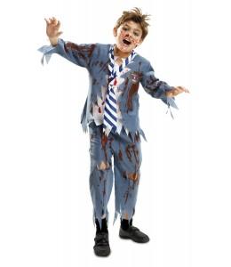 Disfraz de Estudiante Zombie Niño