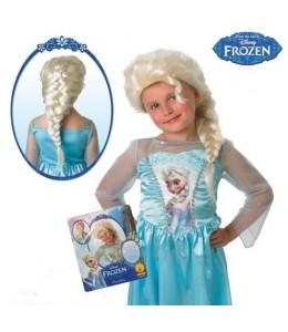 Peluca de Elsa de Frozen