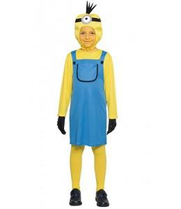 Disfraz de Minion Vestido Niña