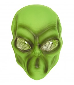 Mascara Alien Verde