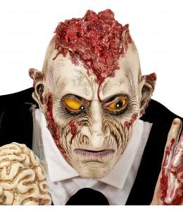 Mascara Zombie con Cerebro