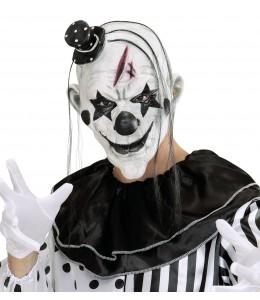 Mascara de Payaso Asesino con Pelo