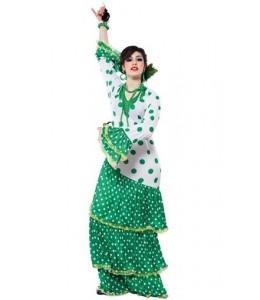 Disfraz de Sevillana verde