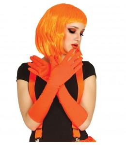 Guantes Largos Naranjas