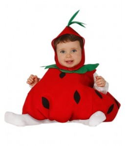 Disfraz de Fresita Bebe