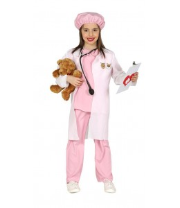 Disfraz de Medico Veterinaria Infantil