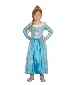 Disfraz de Princesa de Hielo Niña