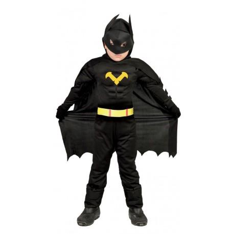 Disfraz de Super Heroe Murcielago musculoso