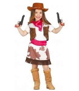 Disfraz de Vaquera Cowgirl Infantil
