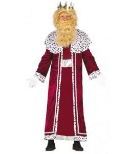 Disfraz de Rey Mago Granate