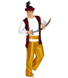 Disfraz de Paje Amarillo