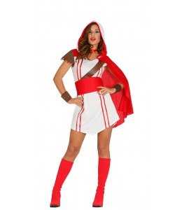 Disfraz de Mercenaria Templaria
